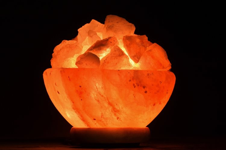 Lampe de sel
